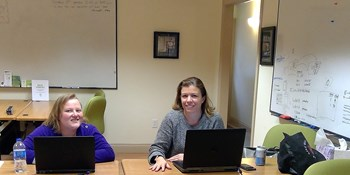 Meet Tech Hub Hudson Members: Anouk & Rachel